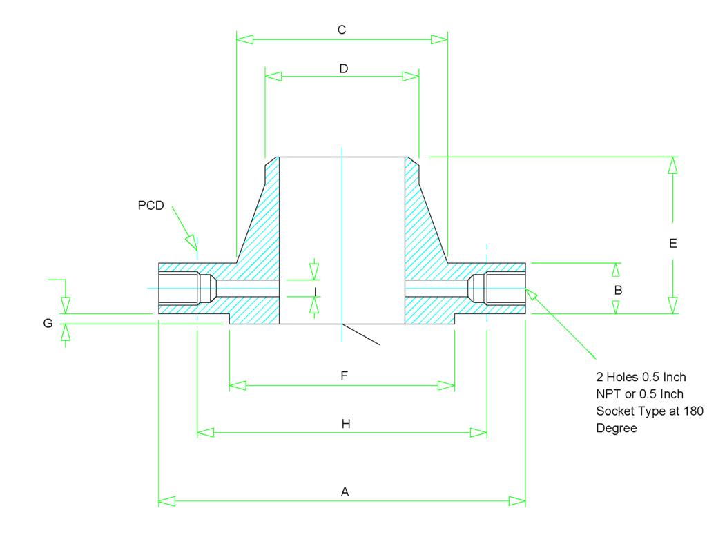 orifice flange dimensions 1024x791 - Orifice Flange