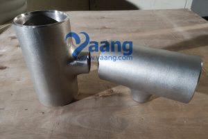 ASME B16.9 ASTM A403 SS2562 Reducing Tee 4