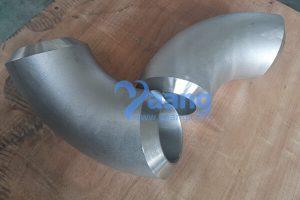 ASME B16.9 ASTM A403 WNR 1.4404 90 Degree LR Elbow DN100 20 MM
