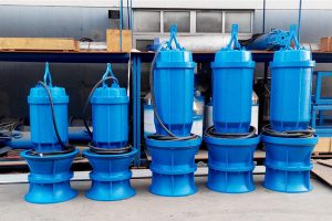 What is an axial flow pump