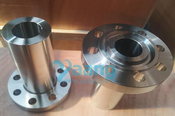 "asme b16 5 astm b564 alloy 2 4360 lwn flange rtj 2 cl600 - ASME B16.5 ASTM B564 Alloy 2.4360 LWN Flange RTJ 2"" CL600"