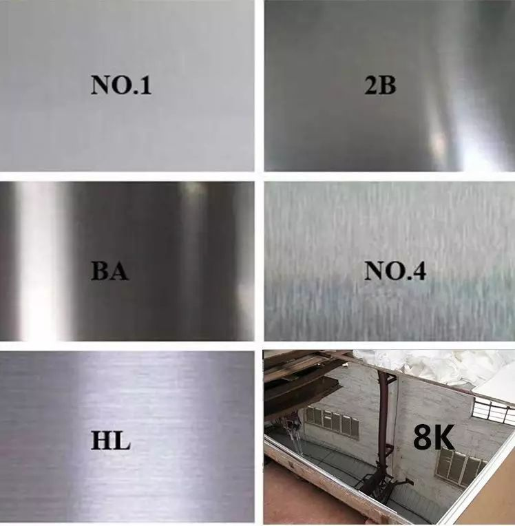 20201116155933 21455 - Stainless steel surface processing types and comparison table
