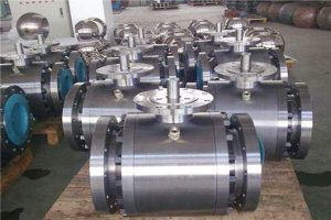 Cause Analysis and Solution of Internal Leakage of Electric Forged Steel Ball Valve