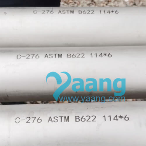 astm b622 hastelloy c276 seamless pipe 1146 length6m 0 - ASTM B622 Hastelloy C276 Seamless Pipe 114*6 Length=6M