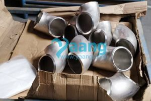 ASTM B366 Incoloy Alloy 825 SMLS 90 Degree LR Elbow 6 Inch SCH80S