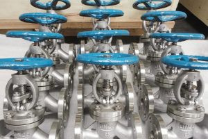 Monel alloy for corrosion resistant valve