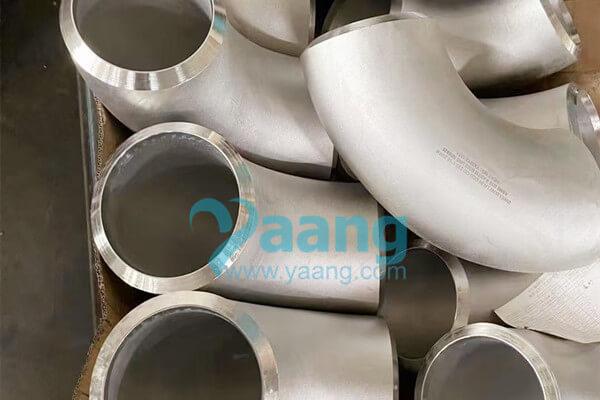 asme b16 9 astm b366 w nr 2 4858 seamless 90 degree lr elbow 8 inch sch120 - ASME B16.9 ASTM B366 W.Nr.2.4858 Seamless 90 Degree LR Elbow 8 Inch SCH120