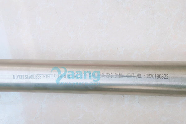 astm b161 uns n02201 seamless steel pipe - ASTM B161 UNS N02201 Seamless Steel Pipe